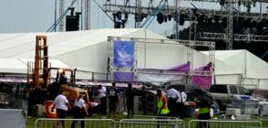 Съоръжение рухна и рани 14 души на концерт на Backstreet Boys (ВИДЕО)