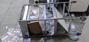 Изпочупиха Спешното отделение в болницата в Перник (СНИМКИ)