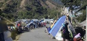 Серия мощни земетресения в Индонезия (ВИДЕО)