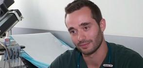 Лекар напусна работното си място, за да спаси живот (ВИДЕО)