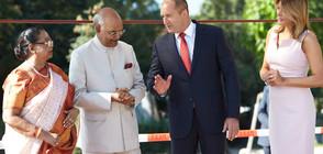 Радев обсъди с индийския президент директна авиолиния между двете страни (ВИДЕО+СНИМКИ)