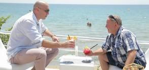 Захари Бахаров се срещна с топ милионера Димитър Митев в Свети Влас