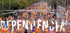 Един милион се събраха в Барселона за Националния ден на Каталуния (ВИДЕО+СНИМКИ)
