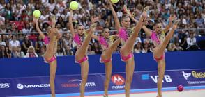 """Стефка Костадинова към """"златните"""" момичета: Горди сме с вас, вие сте стимул за децата!"""