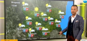 Прогноза за времето (18.09.2018 - сутрешна)