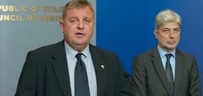 Симеонов и Каракачанов поискаха подкрепа за Орбан (ВИДЕО)