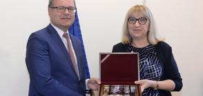 Цачева се срещна с главния прокурор на Бавария (СНИМКИ)