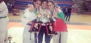 1 шампионска титла и 11 медала за България от Европейското по карате киокушин (СНИМКИ)