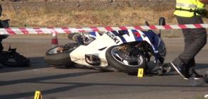 Моторист загина на пътя в Пловдивско (ВИДЕО)