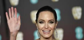 Анджелина Джоли на разходка с двама от синовете си (СНИМКА)