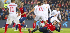 Норвегия нанесе първа загуба на България в Лигата на нациите (ВИДЕО+СНИМКИ)