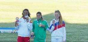 ЗЛАТО ЗА БЪЛГАРИЯ: Александра Начева стана младежки олимпийски шампион на троен скок