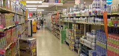 Храни и напитки у нас – по-скъпи и с по-лошо качество, отколкото на Запад