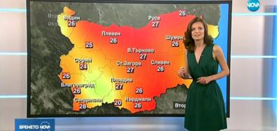 Прогноза за времето (22.05.2018 - обедна)