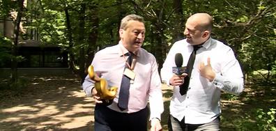 """Таско Ерменков със """"Златен скункс"""" за публикацията си в социалните мрежи"""