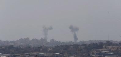Израел нанесе въздушни удари в Газа