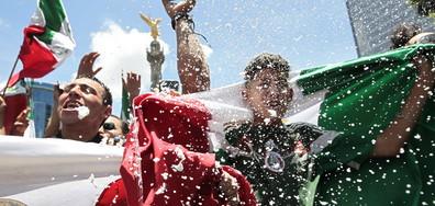 Фенове предизвикаха истинско земетресение в Мексико (ВИДЕО)