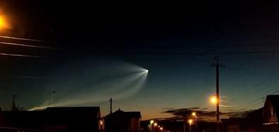 Странен обект в нощното небе уплаши хората в Казан (ВИДЕО)