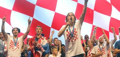 Хърватските футболисти към феновете: Тази награда е за всички вас! (ВИДЕО+СНИМКИ)