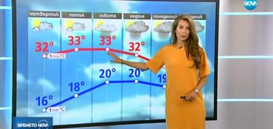 Прогноза за времето (15.08.2018 - централна)