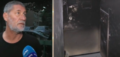 Разследват пожара в блока на фоторепортер в Бургас