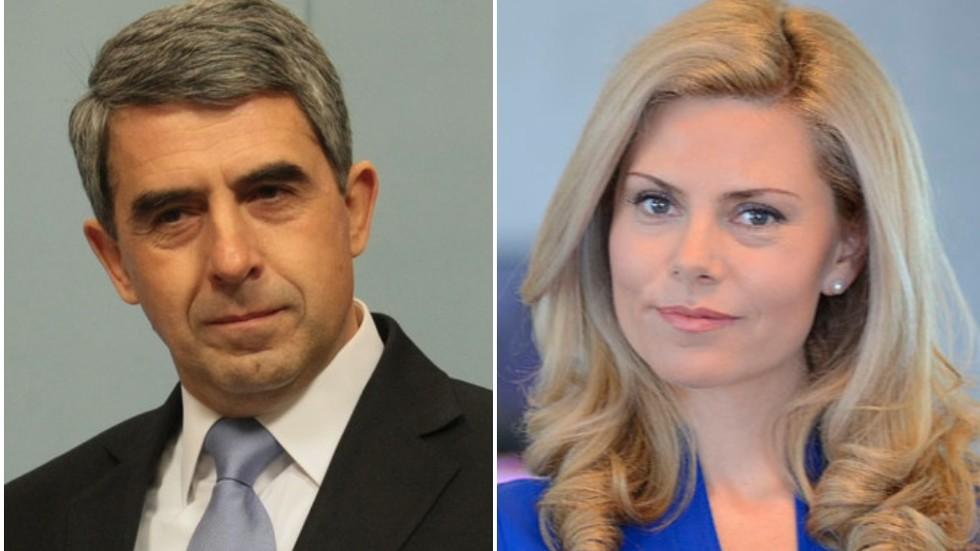 Плевнелиев и Деси Банова стискаха палци за Гришо в Париж