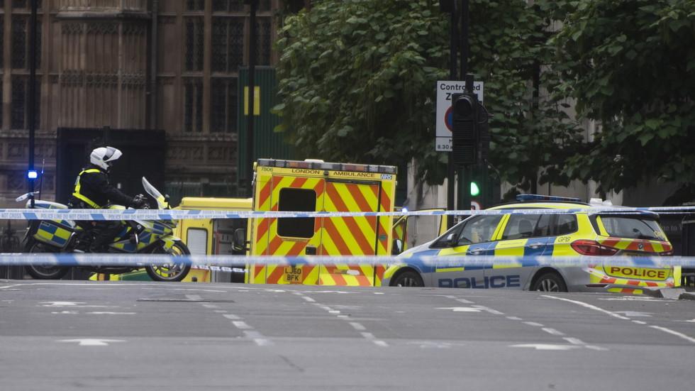 Кола се вряза в пешеходци пред парламента в Лондон (ВИДЕО+СНИМКИ)