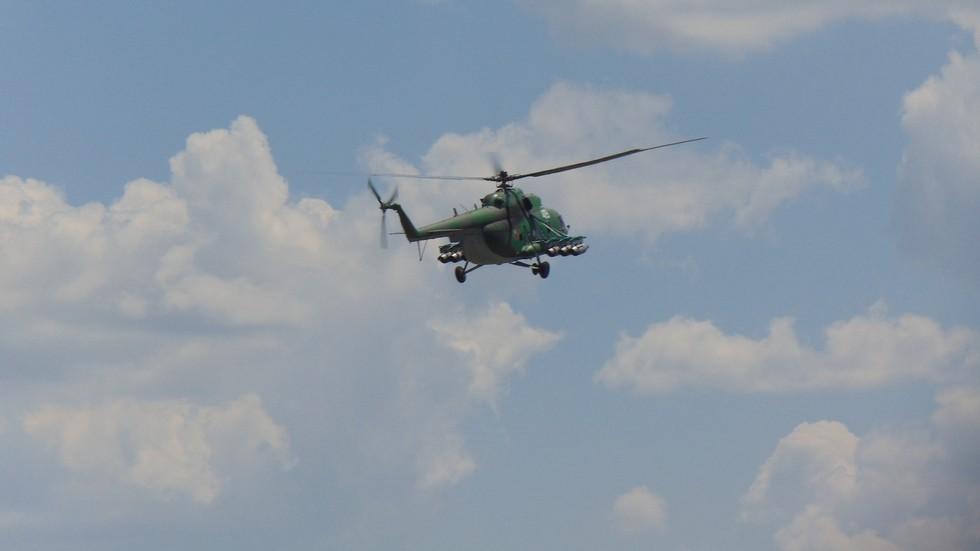 Инцидент с военен хеликоптер край Стамболийски