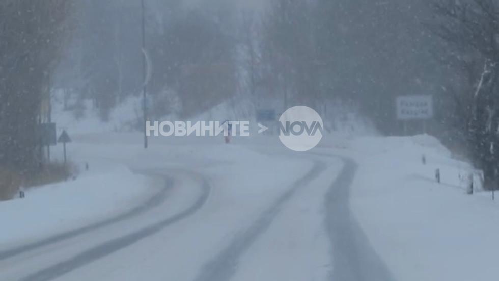 Ледени пътища в Разград (ВИДЕО)