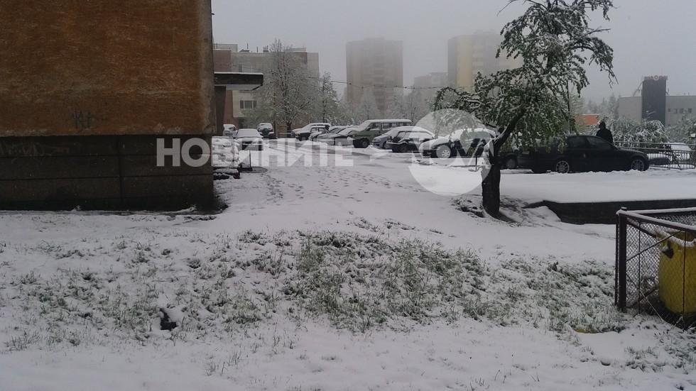 В Габрово си имаме сняг на 20 април