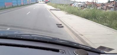 Откраднати метални решетки от канализация