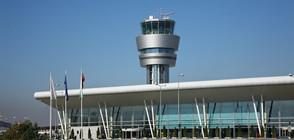 Военен самолет кацна аварийно на Летище София (ВИДЕО)
