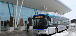Първият батериен електробус у нас вече е в движение (СНИМКИ)