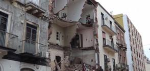 Една жертва и четирима ранени при срутване на сграда в Италия (ВИДЕО)