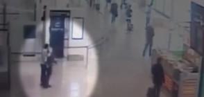 """Как реагира военният патрул при атаката на летище """"Орли"""" (ВИДЕО)"""