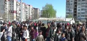 """Полицай беше ранен в заведение в """"Столипиново"""" (ВИДЕО)"""