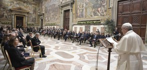 Папа Франциск: ЕС ще загине без нова визия за бъдещето