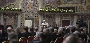 Радев: Папа Франциск отделя внимание на България, за което сме признателни