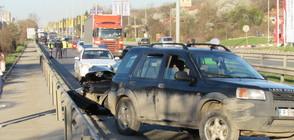 Двама пострадаха при катастрофа в Русе (ВИДЕО+СНИМКИ)