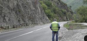 Виадукти и тунели по новия път над Кресненското дефиле