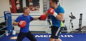 Кубрат Пулев в усилени тренировки преди мача в София (ВИДЕО+СНИМКИ)