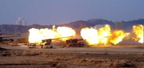 Северна Корея извърши големи артилерийски стрелби
