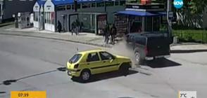 Ще бъде ли наказана шофьорката, блъснала двама ученици на тротоар?