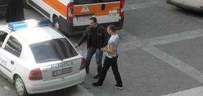 СЛЕД БАНКОВИЯ ОБИР: Заловиха човека, откраднал каса под носа на полицията