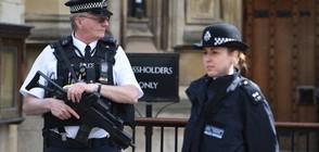Мъж с два ножа е арестуван пред резиденцията на Тереза Мей (ВИДЕО)