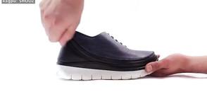 Как да превърнем официалните обувки в маратонки за секунди? (ВИДЕО)