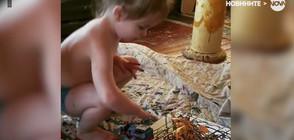 3-годишно дете рисува картини, които се продават за хиляди долари (ВИДЕО)