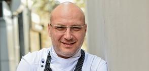 Шеф Манчев превръща ресторанта на музикален продуцент в кулинарна звезда
