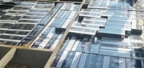 """Задържаха 320 000 къса контрабандни цигари на ГКПП-""""Маказа"""" (СНИМКИ)"""