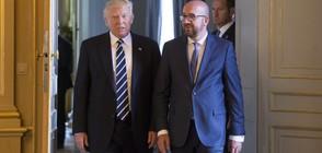 БРЮКСЕЛ ПОД БЛОКАДА: НАТО заседава при драконовски мерки за сигурност (ВИДЕО)